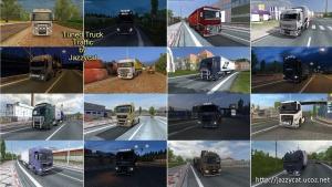 Tuned Truck Traffic mod by Jazzycat
