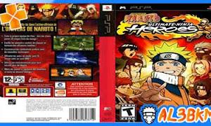 تحميل لعبة Naruto Ultimate Ninja Heroes psp iso مضغوطة لمحاكي ppsspp