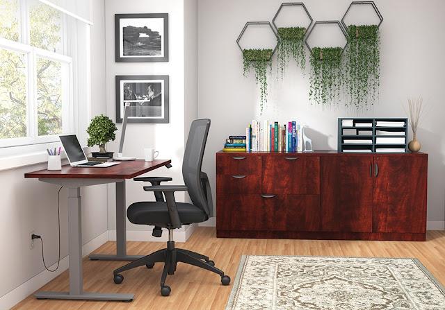 ergonomic home office desk