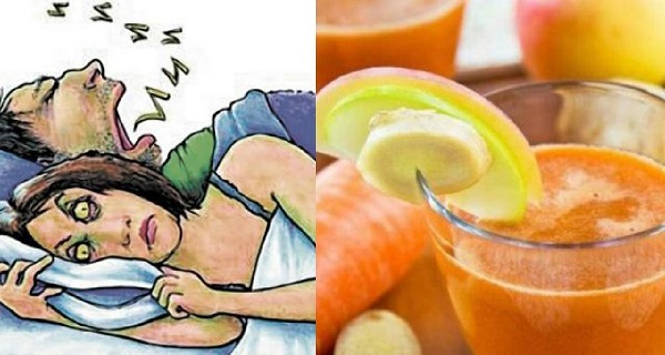 My Husband Stopped Snoring Because Of This Miracle Remedy! Easy To Prepare. Here's How!