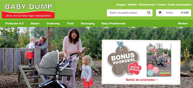 Nieuwe webshop Baby-Dump