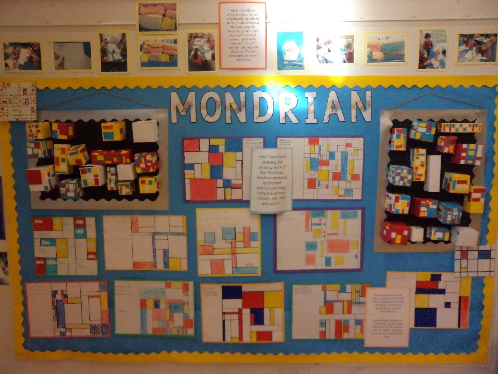 Classroom Ideas Year 6 ~ Watlington primary school year maths and art display