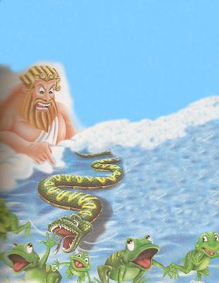 fabula las ranas pidiendo rey
