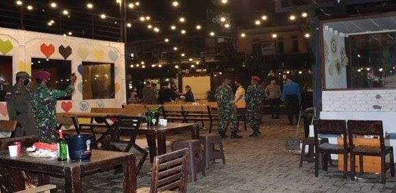 Batam Zona Merah, Petugas Bubarkan Pengunjung Warung Kopi dan Restoran Selama PPKM Darurat, 322 Orang Meninggal