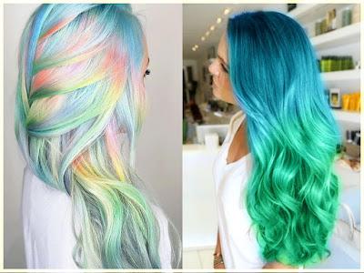 Mermaid Hair Color - 18 Best Hair Color Trend 2016