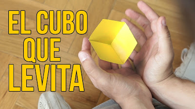 Cómo hacer un cubo que levita