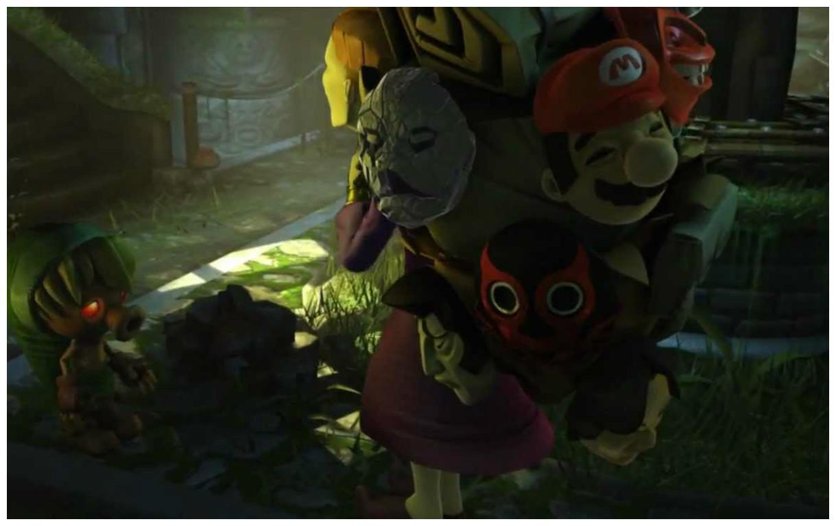 Trailer Corto Del Videojuego Legend Of Zelda