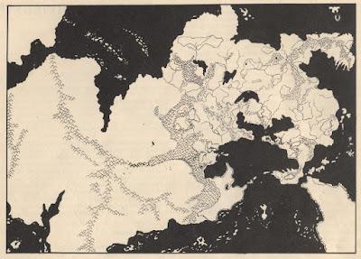 The Continent of Oerik - Greyhawk Folio, 1980