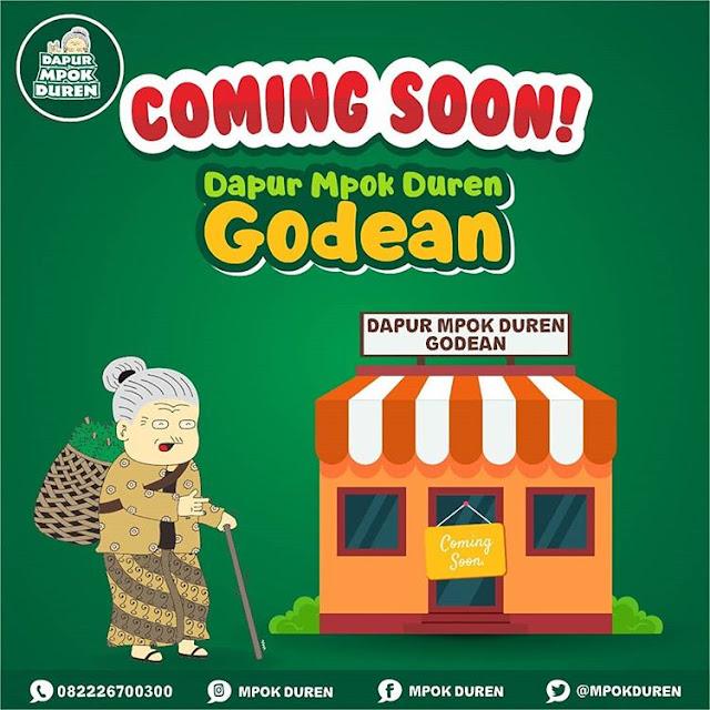 Coming Soon Dapur Mpok Duren Godean