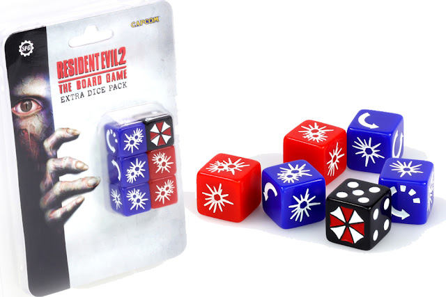 RESIDENT EVIL 2 - EXTRA DICE SET