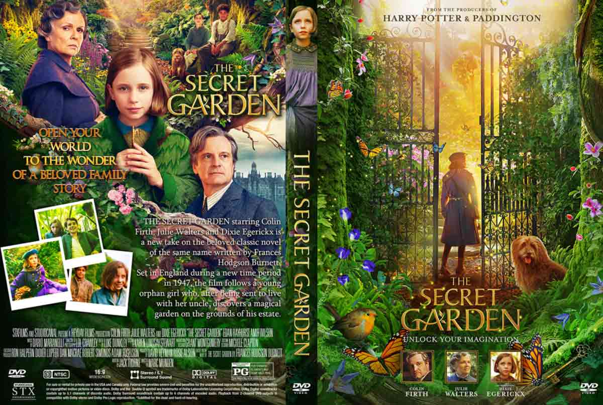 The Secret Garden 2020 Dvd Cover Cover Addict Free Dvd Bluray Covers And Movie Posters