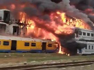 Kebakaran Konservasi di Stasiun Cikaum