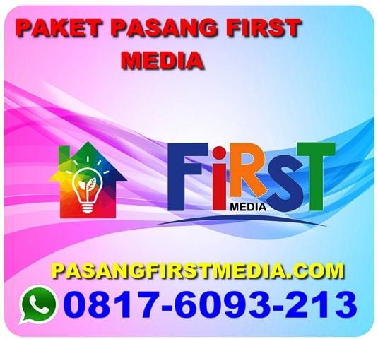 PAKET PASANG FIRST MEDIA