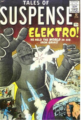 Tales of Suspense #13, Elektro