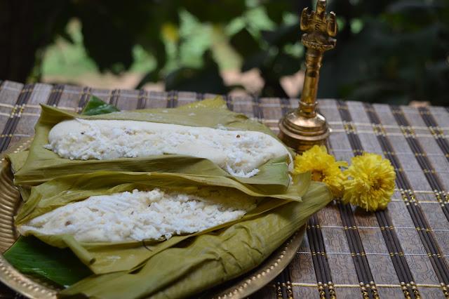 """The signature delicacy for this ritual Prathamashtami is """"ENDURI PITHA"""""""