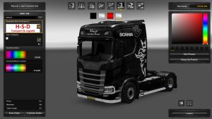 Scania S Paintable Skin