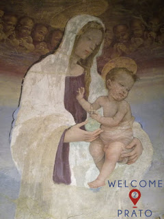 Madonna - bambino - Tabernacolo - Mercatale - Immagine
