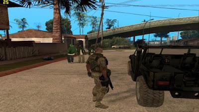 GTA San Andreas Call Of Duty Mod Download
