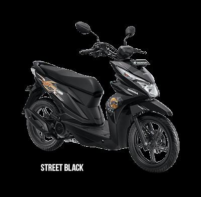 Beat Street Black ESP CBS 2018 Anisa Naga Mas Motor Klaten Dealer Asli Resmi Astra Honda Motor Klaten Boyolali Solo Jogja Wonogiri Sragen Karanganyar Magelang Jawa Tengah.
