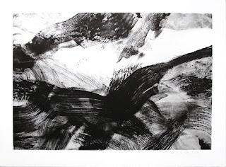 Lithographie sur BFK de Rives, Atelier Clot Bramsen & Georges Paris © Annik Reymond
