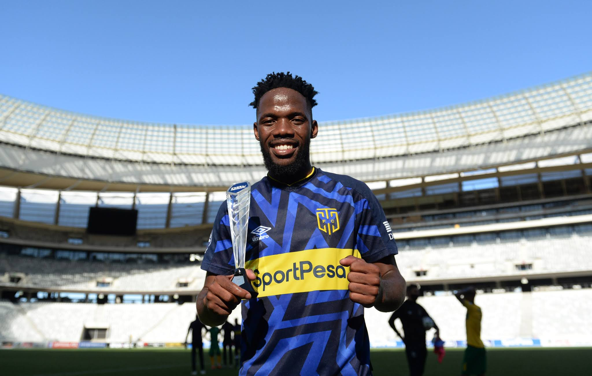 Cape Town City's attacking midfielder Mduduzi Mdantsane