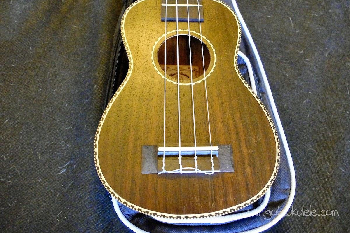 Snail UKS-220 Rosewood Soprano ukulele  body