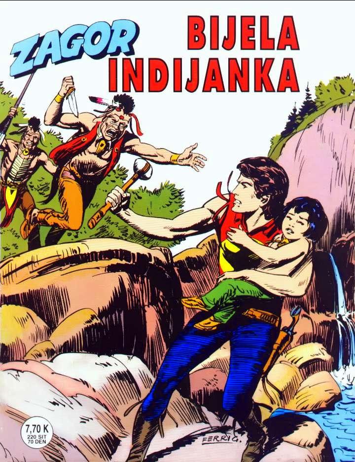 Bijela Indijanka (SD) - Zagor