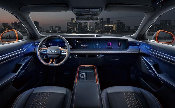 Interior Ford Evos