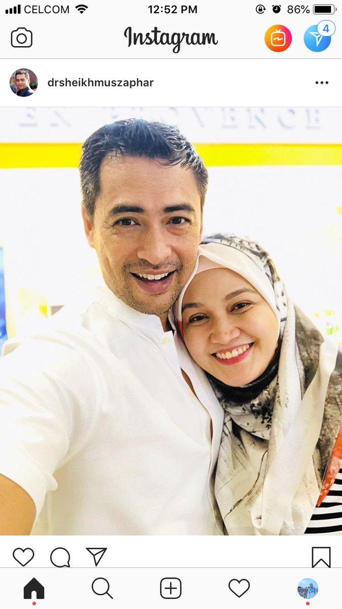 Kisah 'Cinta' Dr Sheikh Muszaphar dengan Isteri ~ Wordless Wednesday