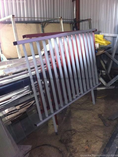 Lắp Cửa sắt chung cư N01-T2 Ngoại Giao Đoàn hà nội