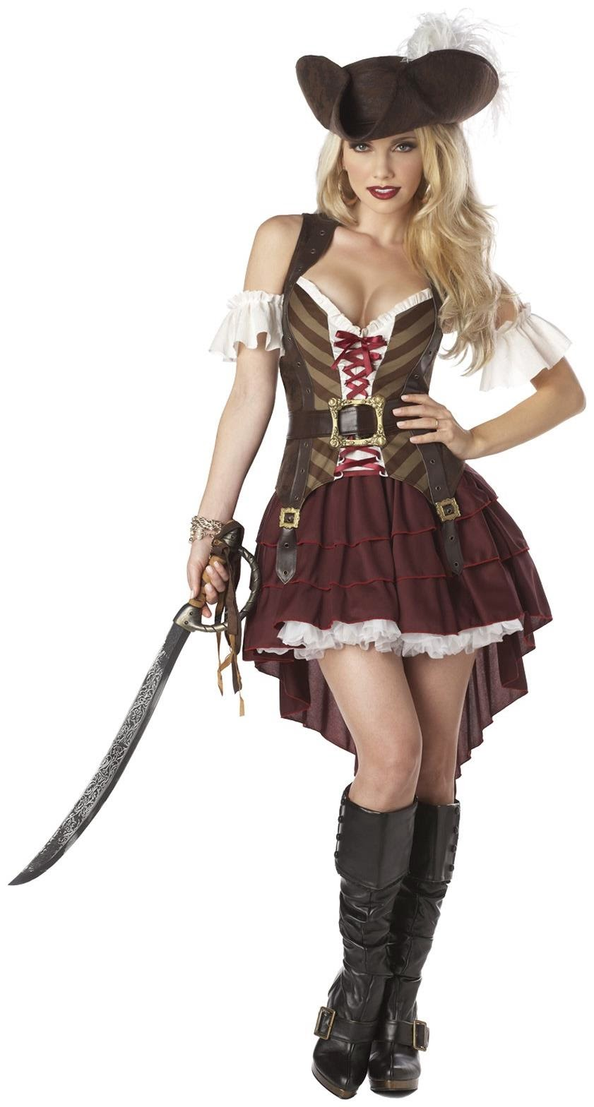 Pirate Festival: Hollywood Swashbuckler Pirate Costume Ideas for Women