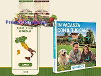 Logo Concorso ''Country Farms'': vinci gratis cofanetti Smartbox ''In vacanza con il tuo cane''
