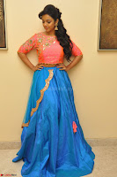 Nithya Shetty in Orange Choli at Kalamandir Foundation 7th anniversary Celebrations ~  Actress Galleries 019.JPG