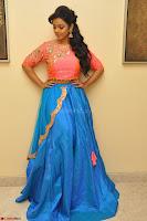 Nithya Shetty in Orange Choli at Kalamandir Foundation 7th anniversary Celebrations ~  Actress Galleries 019.JPG