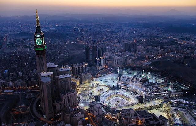 Alhamdulillah, Suhu Udara Di Makkah Sedikit Dingin