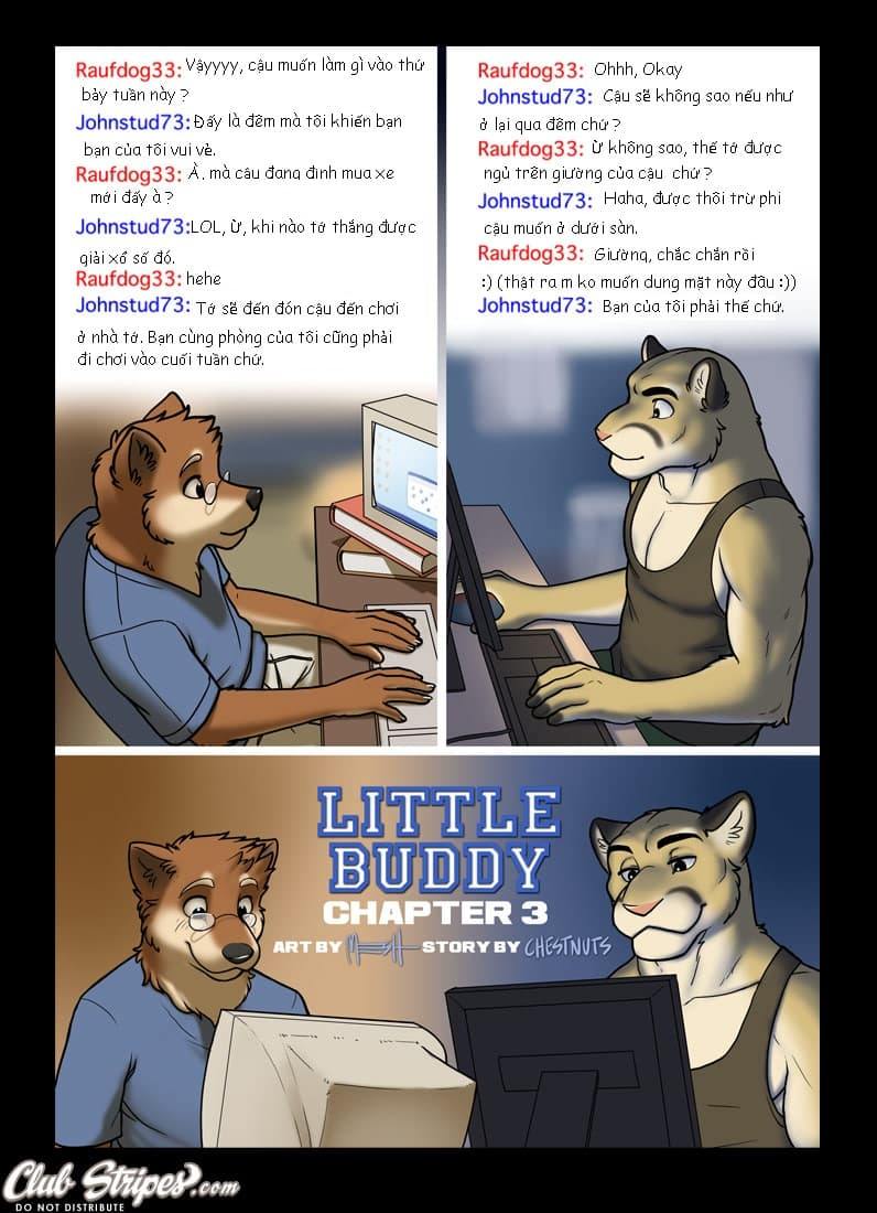 Trang 1 - Người bạn bé nhỏ 3 () - Truyện tranh Gay - Server HostedOnGoogleServerStaging