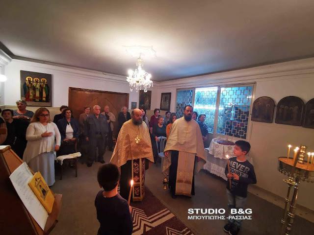 Η εορτή του Αγίου Νεκταρίου στην Αγία Τριάδα (Μέρμπακα)