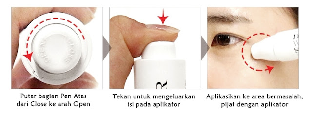 How To Apply DIA Effect Whitening Spot Treatment
