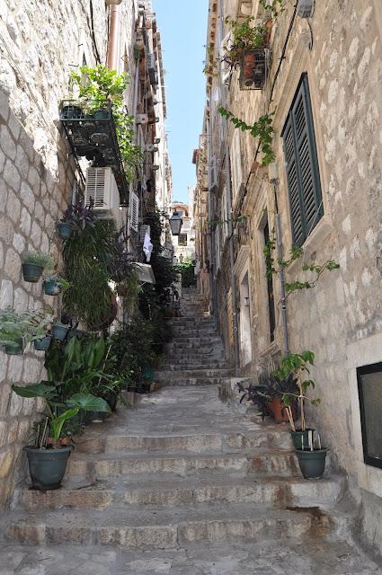 foto de calle de Dubrovnik, que ver en Dubrovnik