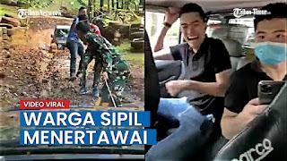 TNI Konfirmasi Video Viral Tentara Jadi Sopir Warga Sipil