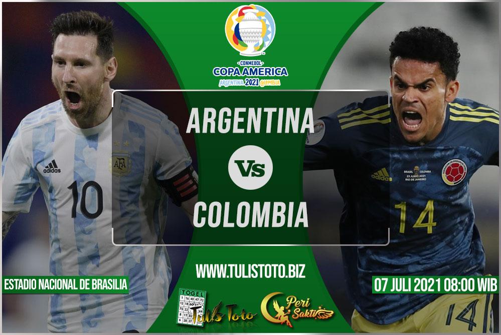 Prediksi Argentina vs Colombia 07 Juli 2021
