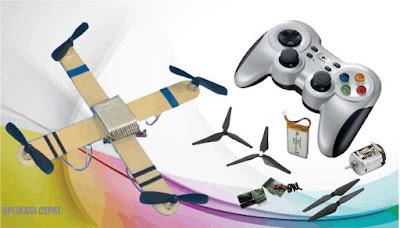 Membuat Drone Sendiri Biaya Murah
