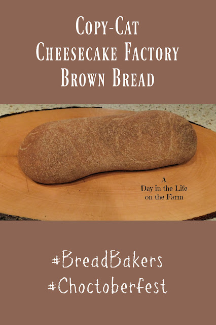 Copy-Cat Cheesecake Factory Brown Bread pin