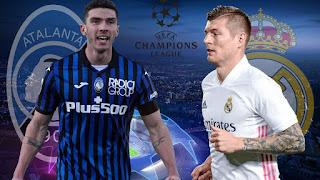 Реал Мадрид - Аталанта где СМОТРЕТЬ ОНЛАЙН БЕСПЛАТНО 16 марта 2021 (ПРЯМАЯ ТРАНСЛЯЦИЯ) в 23:00 МСК.