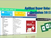 Aplikasi Rapor Kelas 6 Kurikulum 2013 Semester 2