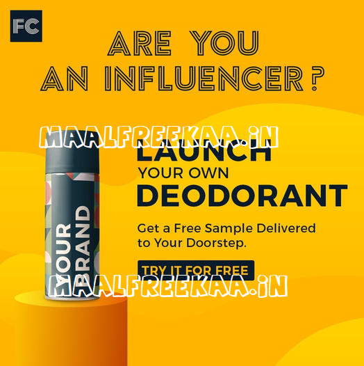 Influencer Launch own brand and get free