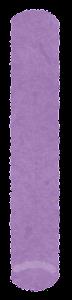 チョークのイラスト(紫)
