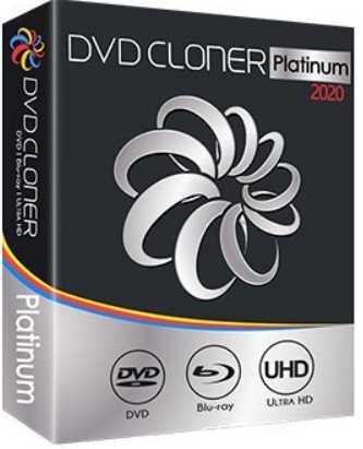 DVD-Cloner Platinum 2020 17.20 Build 1456 poster box cover