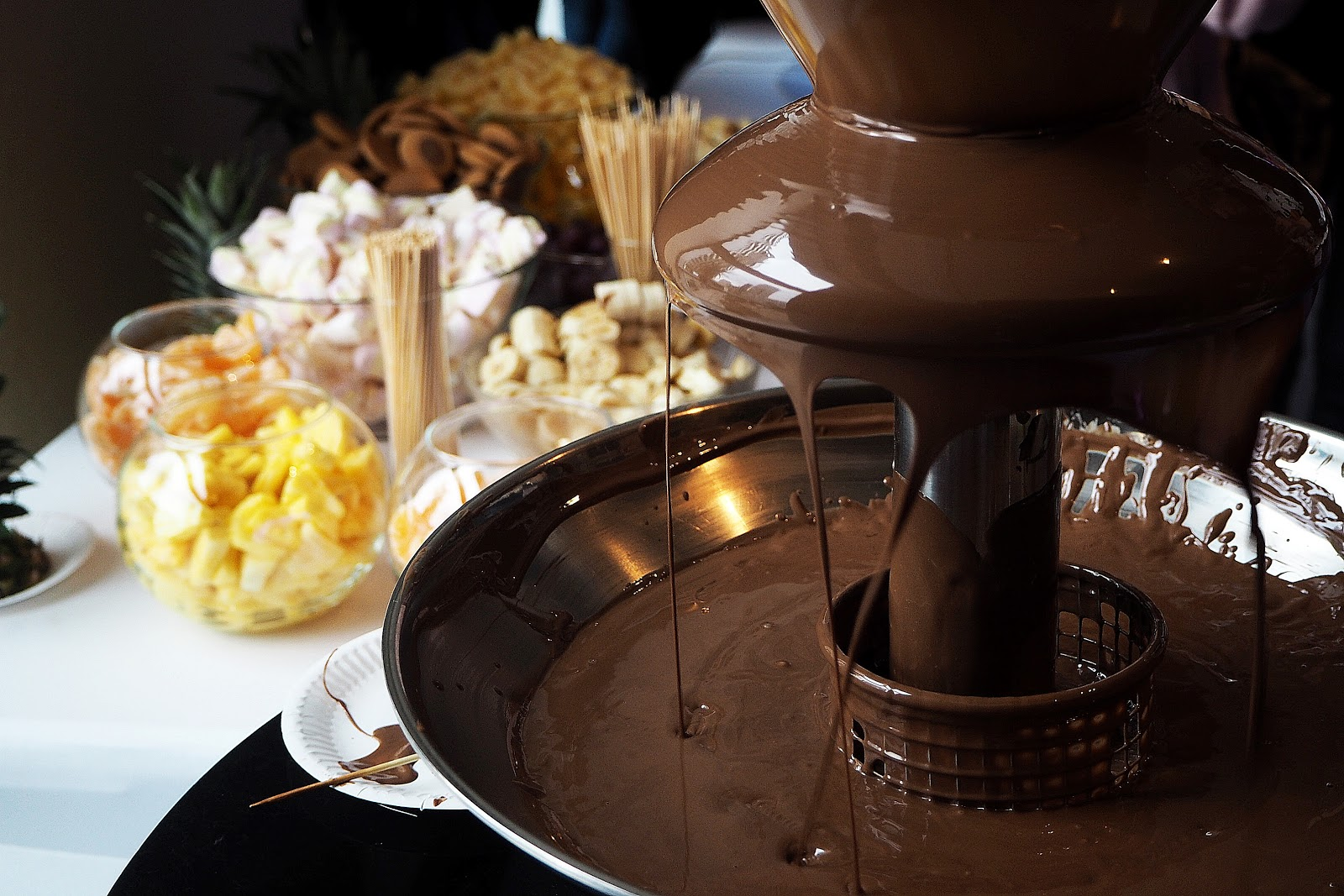 semilac fontanna czekoladowa