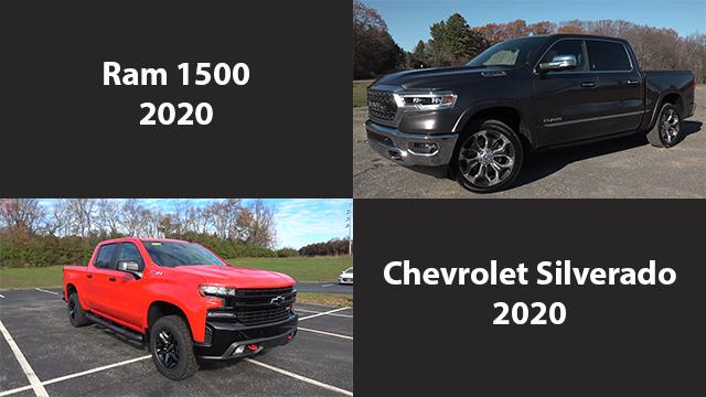 مقارنة بين شيفروليه سيلفرادو 2020 و رام 1500 نسخة 2020